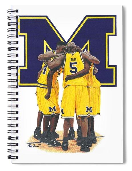 Fab Five Spiral Notebook