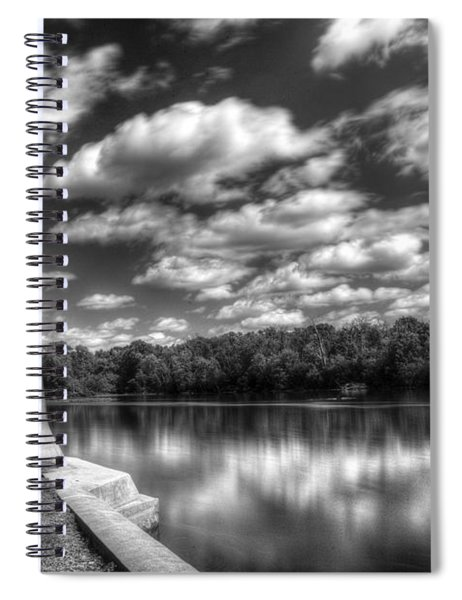 Fabyan Lighthouse On The Fox River Spiral Notebook