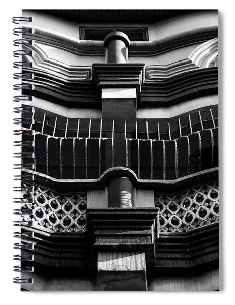 Facade Spiral Notebook