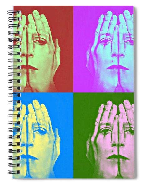Face Art Spiral Notebook