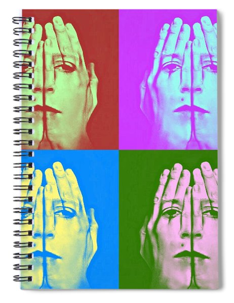 Face Art Spiral Notebook