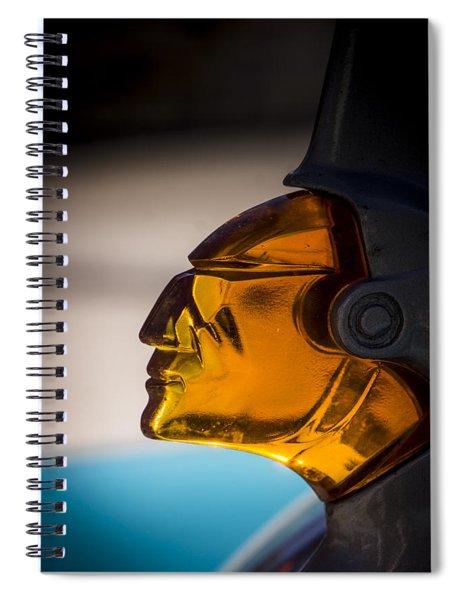 Face Forward Spiral Notebook