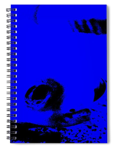 Face From The Deep Spiral Notebook