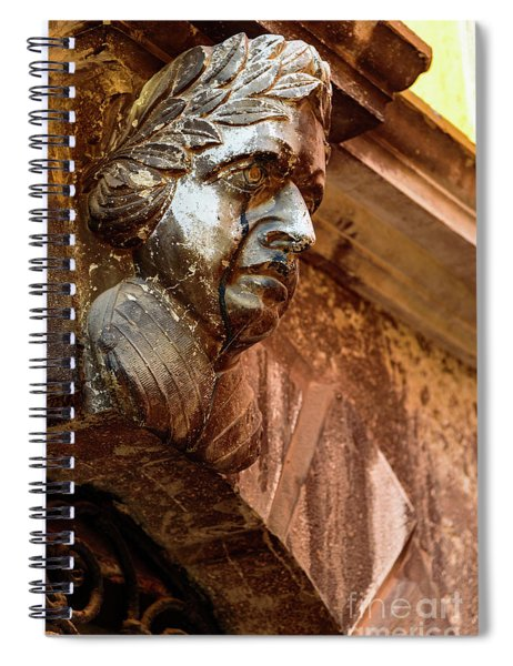 Face In The Streets - Rovinj, Croatia Spiral Notebook