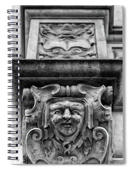 Face Of London Spiral Notebook