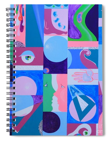 Face-to-face  Spiral Notebook
