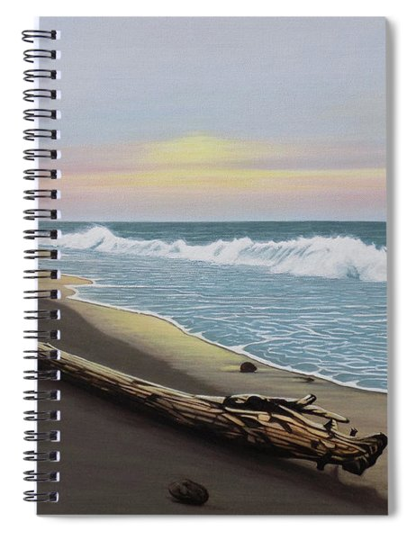 Face To The Morning Spiral Notebook