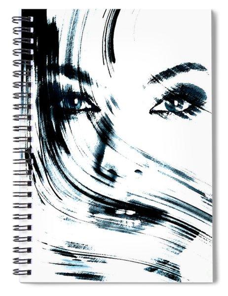 Face Spiral Notebook