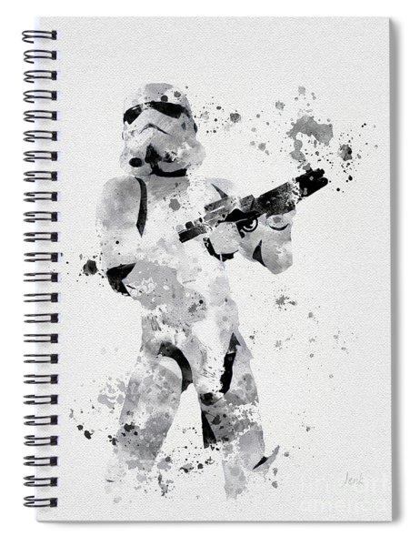 Faceless Enforcer Spiral Notebook