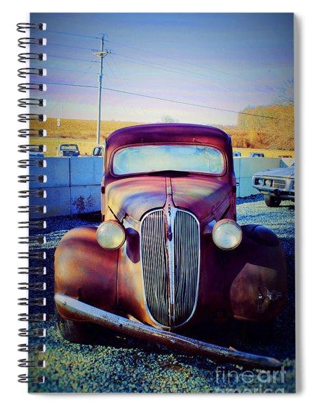 Facelift Wanted Car Spiral Notebook