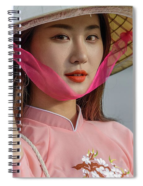 Faces Of Hoian - 04 Spiral Notebook