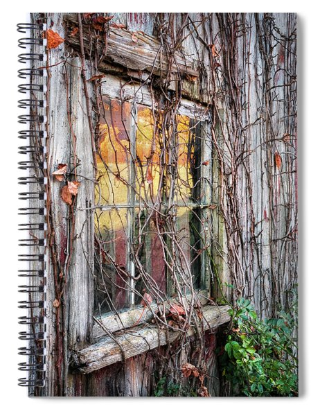 Fade To Gray Spiral Notebook