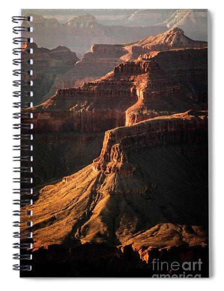 Fading Light Spiral Notebook by Scott Kemper