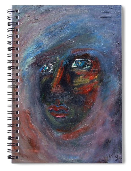Fading Slowly Spiral Notebook