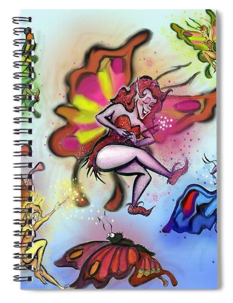 Faeries Spiral Notebook