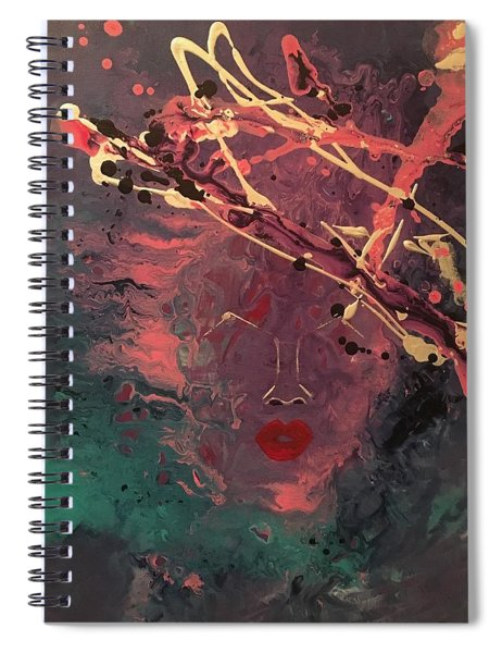 Illusion Of Her Spiral Notebook