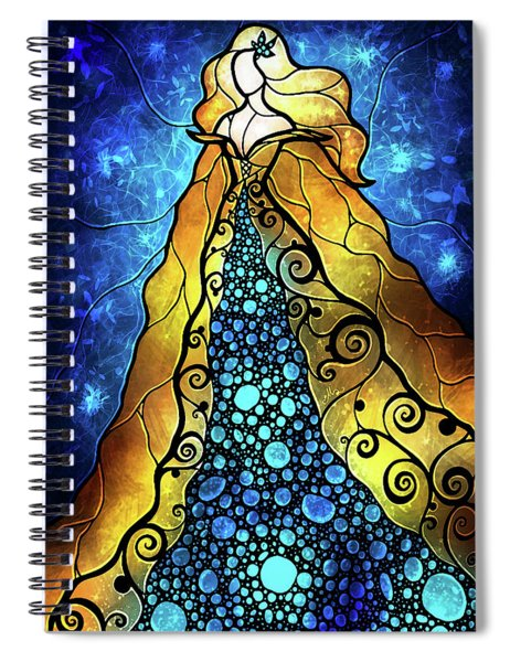 Fair Ophelia Spiral Notebook