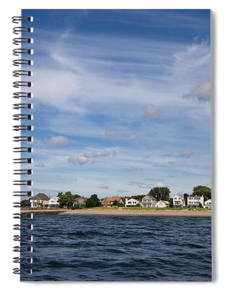 Fairfield Connecticut Coastline Spiral Notebook