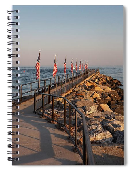 Fairfield Fishing Pier Spiral Notebook