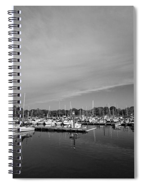 Fairfield Marina Spiral Notebook