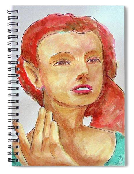 Fairy Face Spiral Notebook