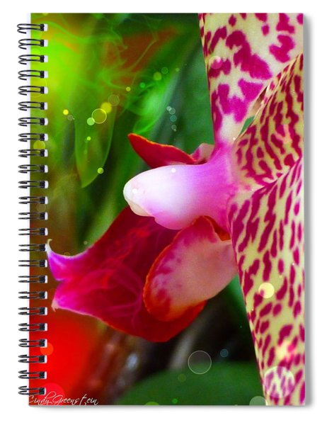 Fairy Orchid Spiral Notebook