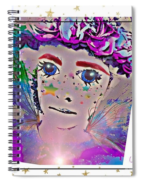 Fairy Party Spiral Notebook