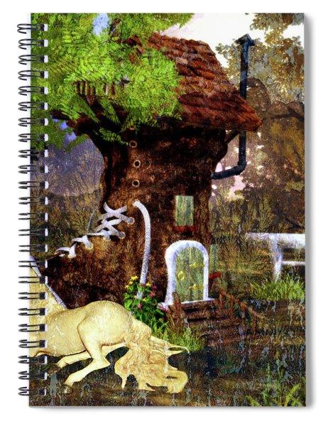 Fairy Retreat Spiral Notebook