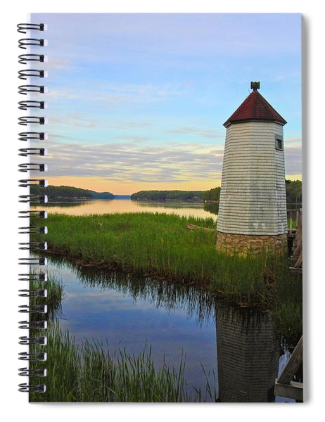 Fairy Tale On The River Spiral Notebook