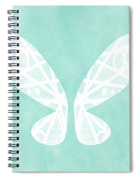 Fairy Wings- Art By Linda Woods Spiral Notebook