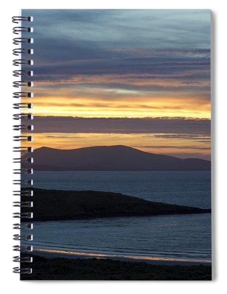 Falkland Islands At Sunset Spiral Notebook
