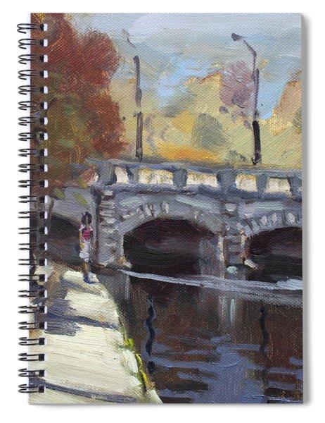 Fall At Delaware Park Buffalo Spiral Notebook
