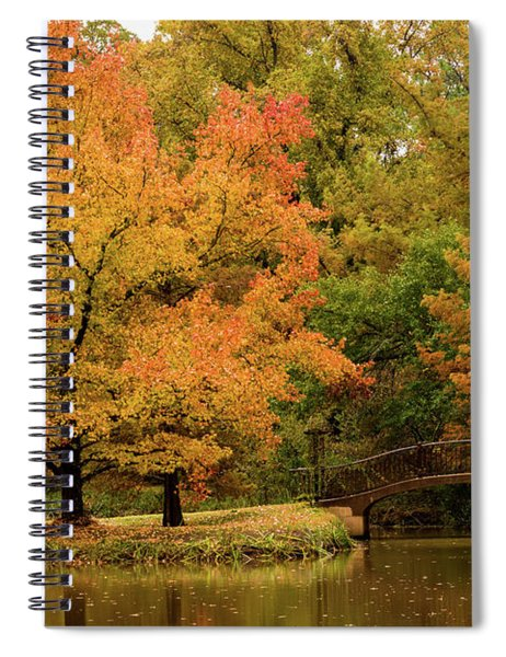 Fall At The Arboretum Spiral Notebook