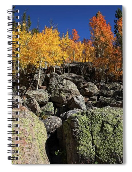 Fall Color In The Rocky Mountains Spiral Notebook