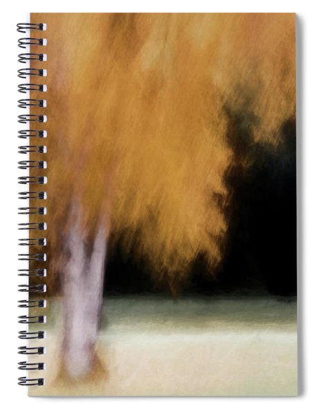 Fall Color With Painterly Effect Spiral Notebook