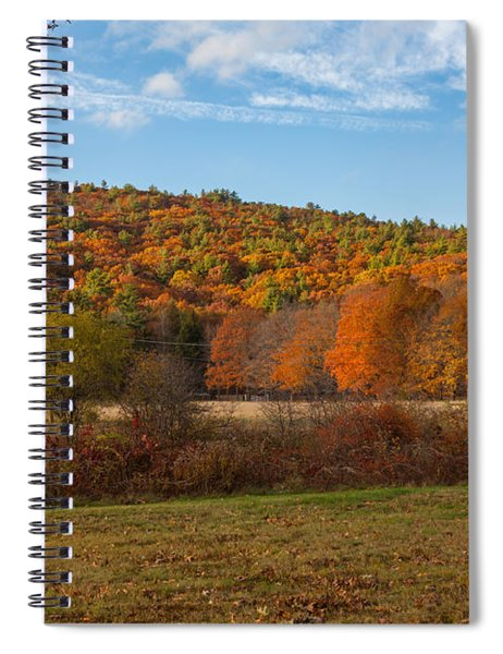 Fall Colors On Great Blue Hill Spiral Notebook