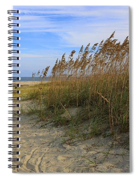 Fall Day On Tybee Island Spiral Notebook