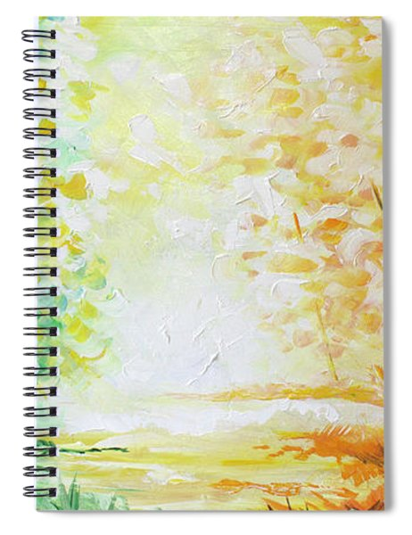 Fall Glow Spiral Notebook
