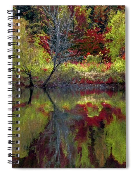 Fall Gone Wild Spiral Notebook