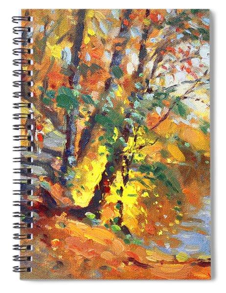 Fall In Bear Mountain Spiral Notebook