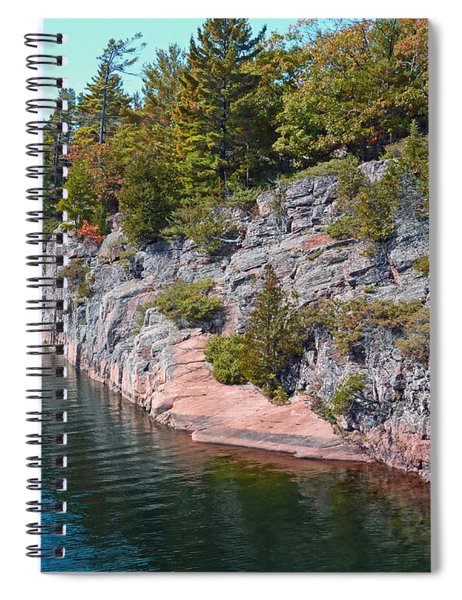 Fall In Muskoka Spiral Notebook