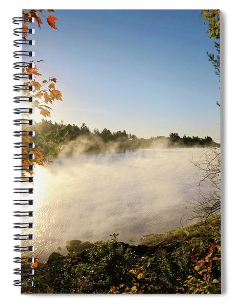 Fall In New England Spiral Notebook
