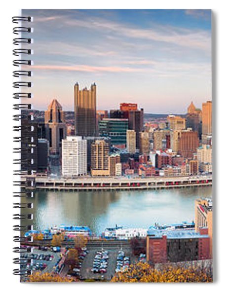 Fall In Pittsburgh  Spiral Notebook