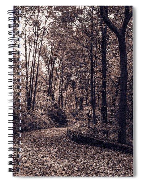 Fall In Roxbury Spiral Notebook