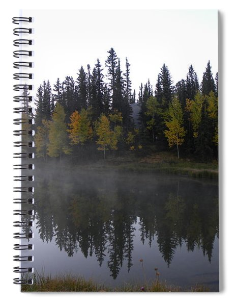 Kiddie Pond Fall Colors Divide Co Spiral Notebook