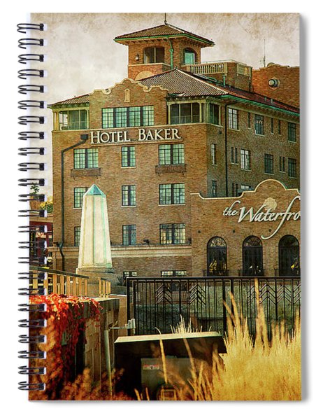 Fall In St Charles Spiral Notebook