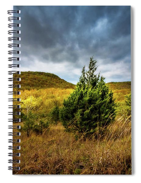 Fall In The Ozarks Spiral Notebook