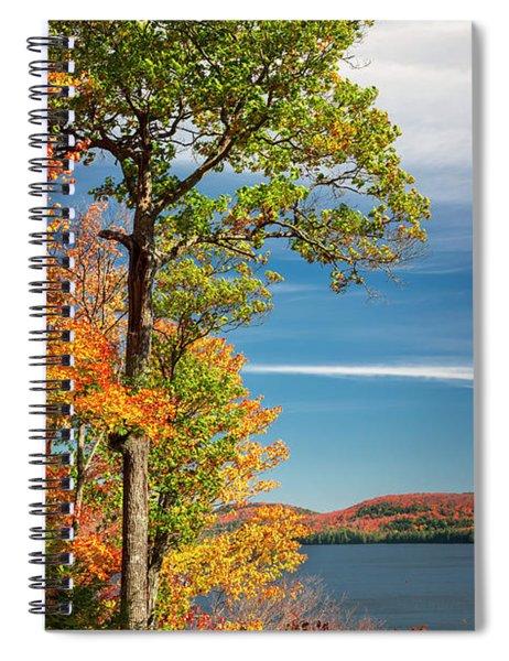 Fall Oak Tree Spiral Notebook