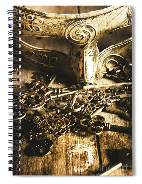 Fall Of The King Spiral Notebook