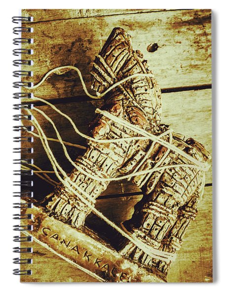 Fall Of Troy Spiral Notebook